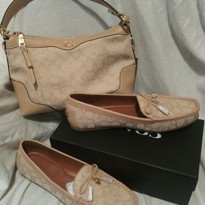 New!! Coach shoes size 11 and Purse set